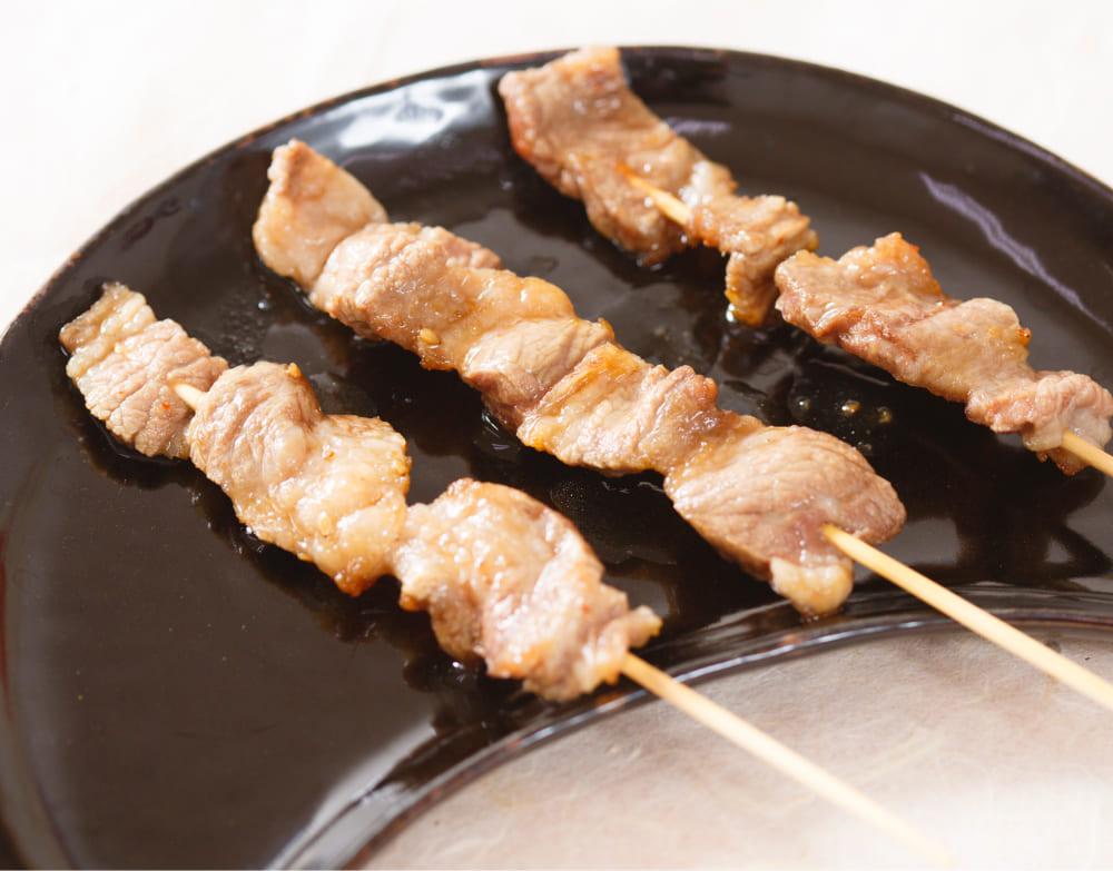 牛串(塩、韓国風タレ)