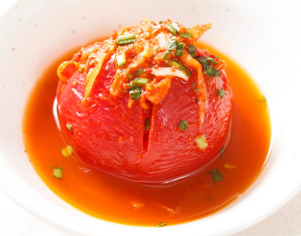 高槻トマトのまるごとキムチ